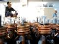 foto lampu botol minyak daur ulang